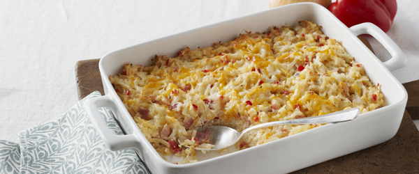 Cheesy Bacon Hash Brown Casserole Recipe Kraft What S Cooking