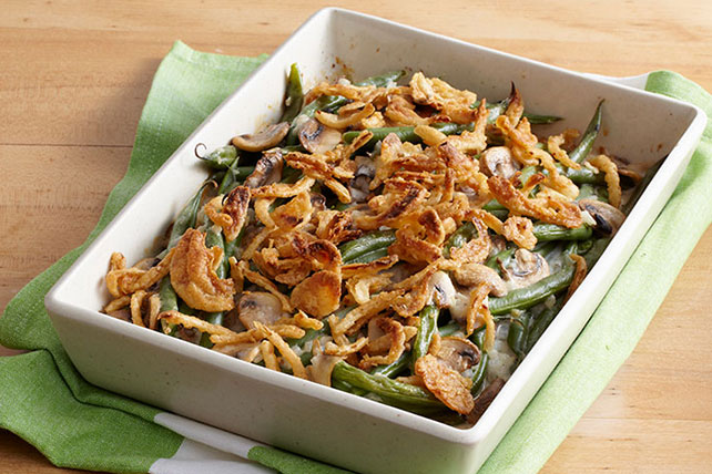 Green Bean Casserole with Mushrooms Image 1