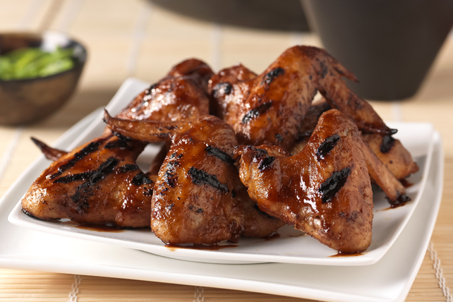Sweet & Spicy Grilled Chicken Wings Image 1