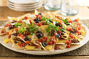 VELVEETA® Fast n' Tasty Loaded Nachos