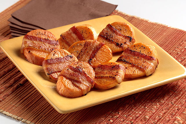 Bacon-Laced Sweet Potatoes Image 1
