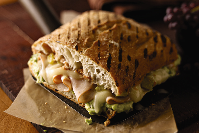 Avocado, Turkey & Cheese Torta Image 1