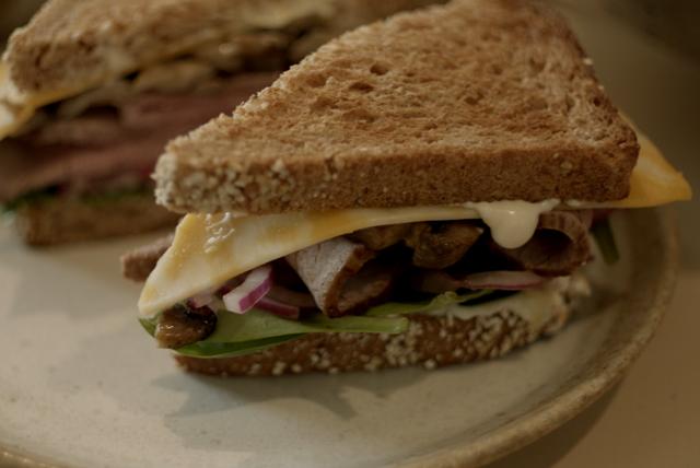 Bistro Beef & Jack Sandwich Image 1