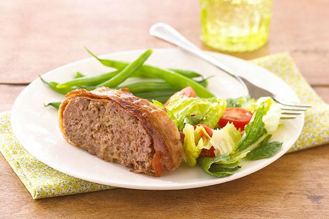 Pastel de carne con tocino y queso Image 1