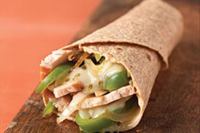Chicken Fajita Wrap Image 1