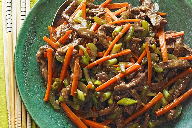 Salteado de carne de res desmenuzada al estilo sichuanés Image 1