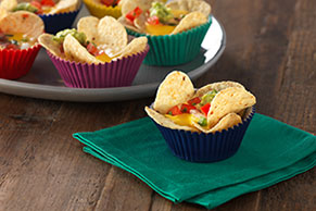 Two-Bite Nacho Cups