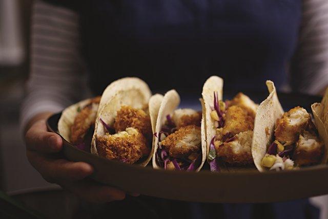 Tacos caseros de tilapia Image 1