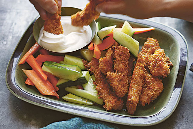 Extra Cheddar Chicken Tenders Image 1