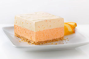 Orange Dream Layered Squares Image 1