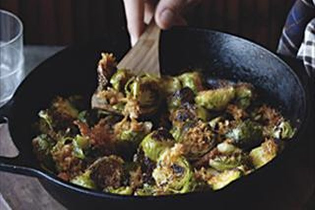 Caramelized Brussels Sprouts Image 1
