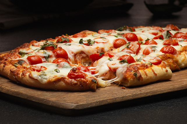 Tomato-Basil Pizza Recipe Image 1