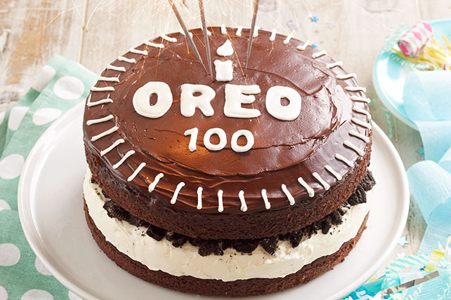 Chocolate-Covered OREO Celebration Cake Image 1