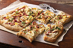 Grilled Chicken Flatbread