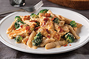 Chicken & Broccoli-Cheddar Skillet