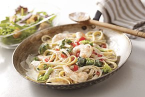 Creamy Shrimp And Broccoli Fettuccine Recipes — Dishmaps