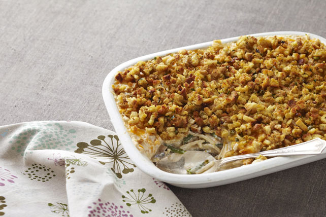 Creamy Stuffing-Topped Turkey Image 1