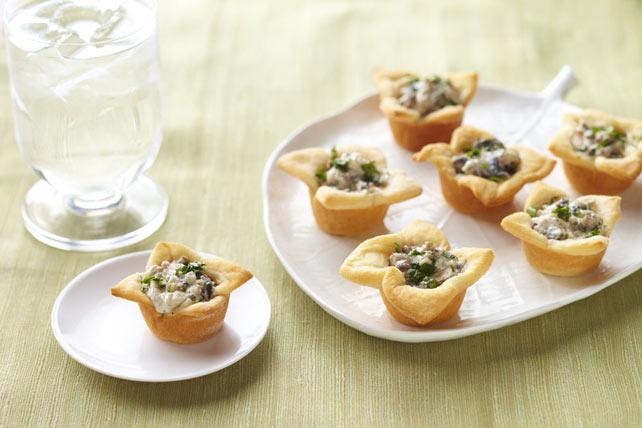 Creamy Mushroom Tartlets Image 1