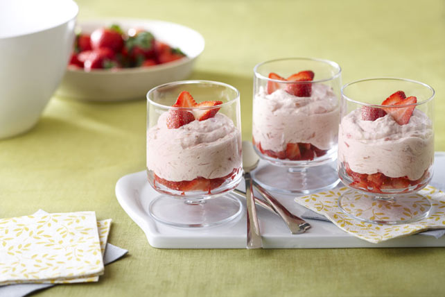 Fresh Strawberry-Rhubarb  Fool Image 1
