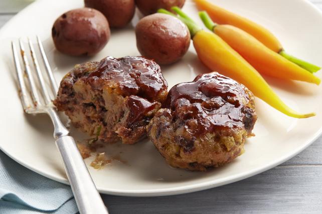 Mini pains de viande à la sauce Barbecue Image 1