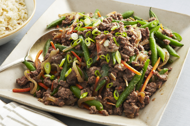 Stir-Fried Beef & Green Beans Image 1