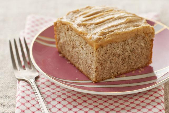 Gâteau-collation aux bananes et au beurre d'arachide Image 1