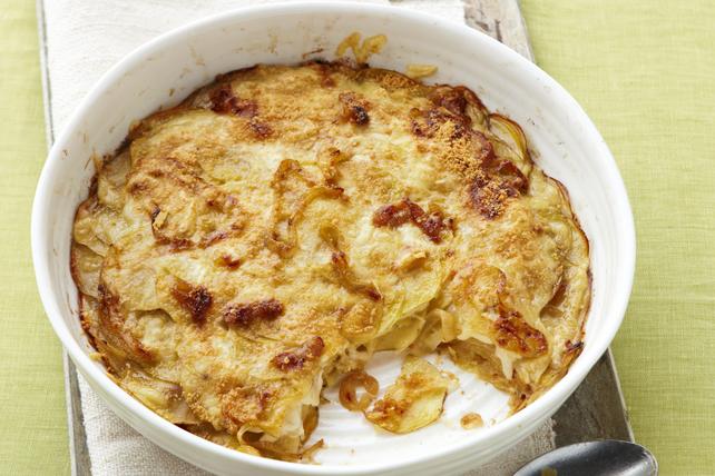 Gratin de pommes de terre et d'oignons caramélisés Image 1