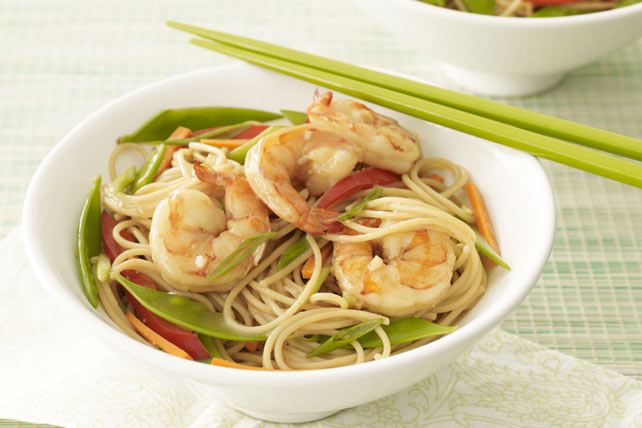 "Shrimp ""Noodle"" Bowl Image 1"