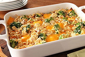 Sharp Cheddar VELVEETA®, Chicken & Broccoli Bake
