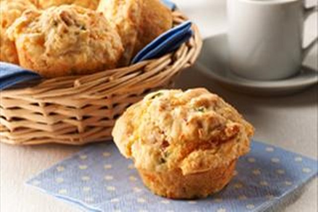 Bacon & Cheese Corn Muffins Image 1
