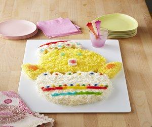 Baby Chick Cake