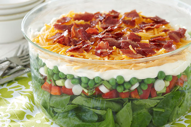 Seven-Layer Salad Recipe  Image 1