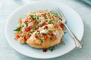 Chicken & Brown Rice Pilaf