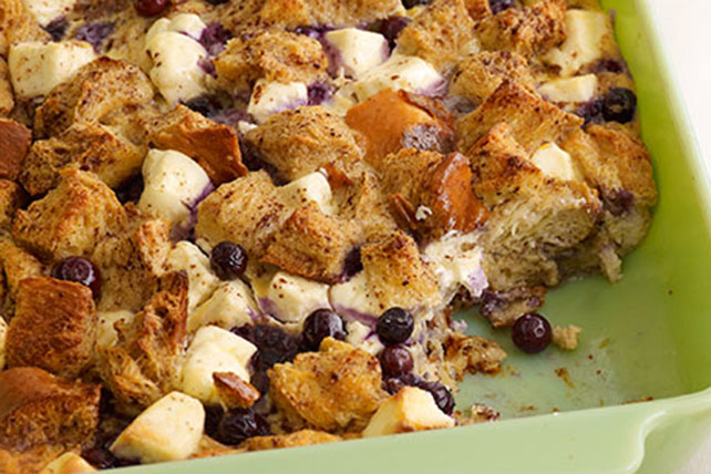 Blueberry Strata Image 1