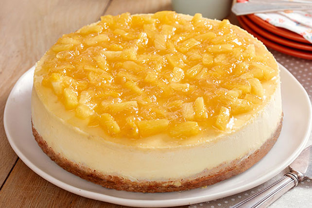 Pineapple-Topped New York Cheesecake Image 1