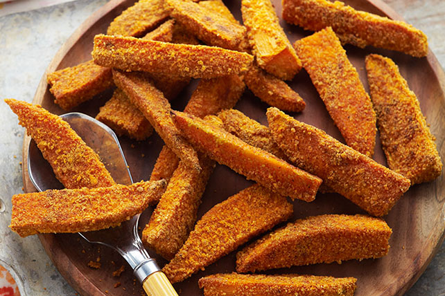 Spicy Sweet Potato Wedges Image 1