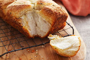 Parmesan-Herb Bread Recipe