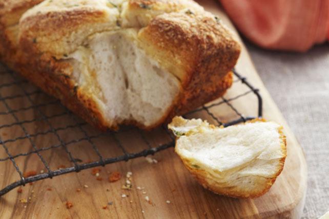 Pan al parmesano con orégano Image 1