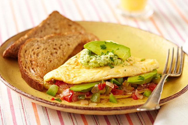 Omelette de aguacate Image 1