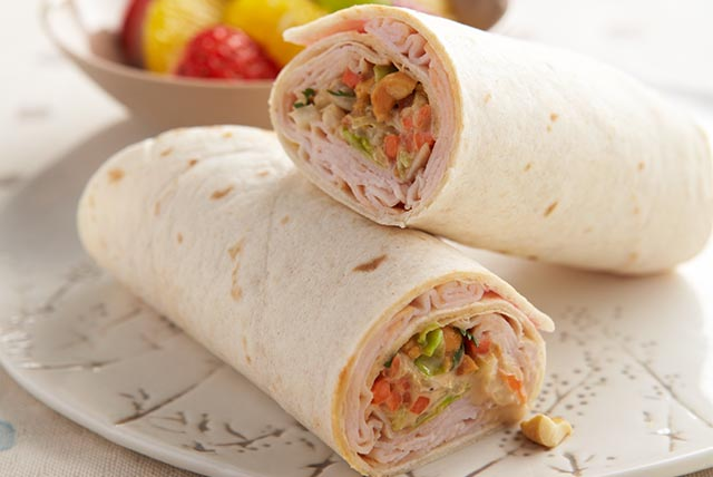 Thai Turkey Wraps Image 1