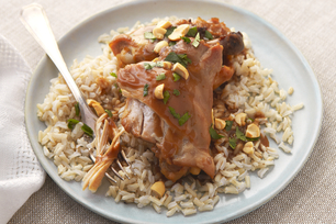 Slow-Cooker Thai Chicken Thighs