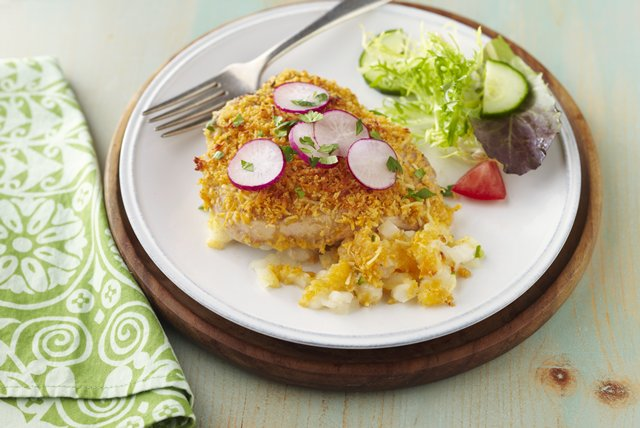 Pork Chop & Hominy Bake Image 1