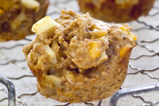 Bouchées aux pommes et au cheddar Image 1