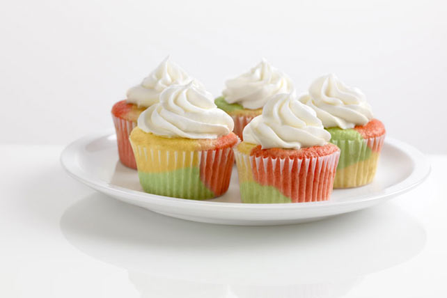 Tie-Dye Fruity Cupcakes Recipe - Kraft Canada