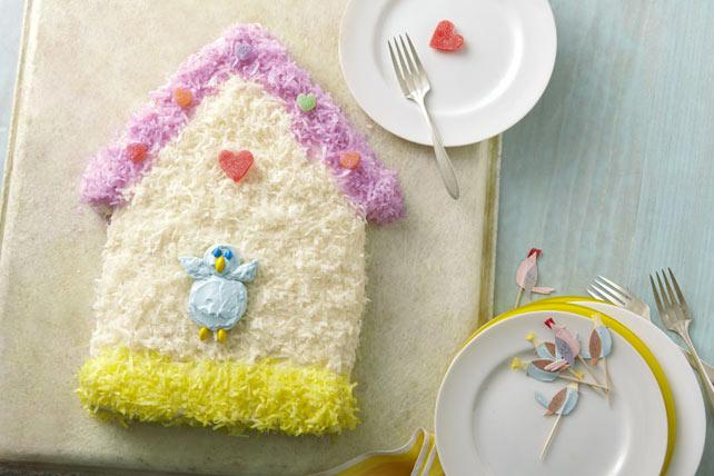 Cabane d'oiseaux en gâteau Image 1