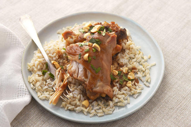 Slow-Cooker Thai Chicken Thighs Image 1