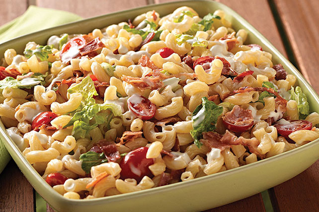 Homestyle BLT Macaroni Salad Image 1