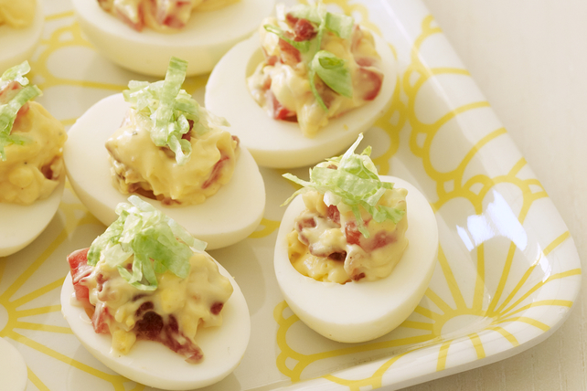 BLT Devilled Eggs Image 1