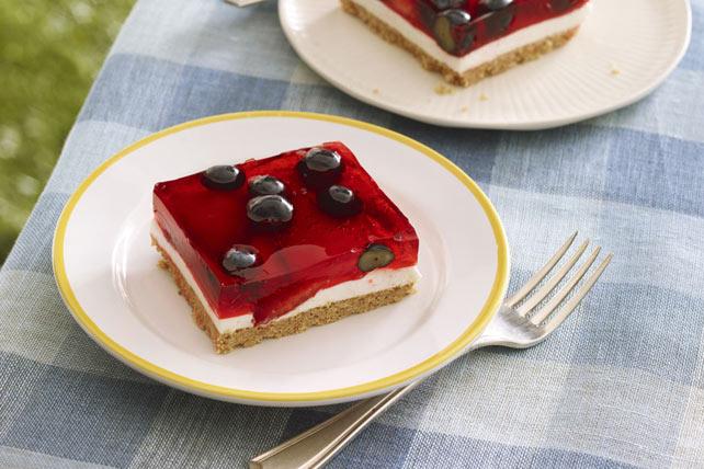 Glazed Berry Squares Image 1