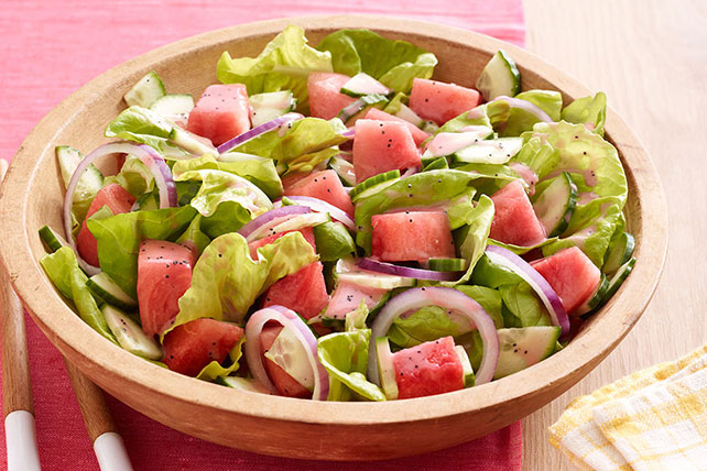 Watermelon Salad Recipe Image 1